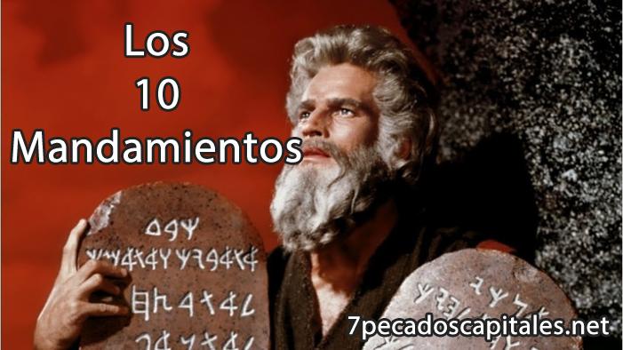 ▷ Los 10 Mandamientos ¡Historia, aprender en español e inglés!